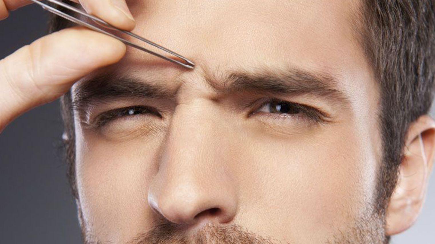 Epilation sourcil homme je d cide de les affiner for Salon epilation homme