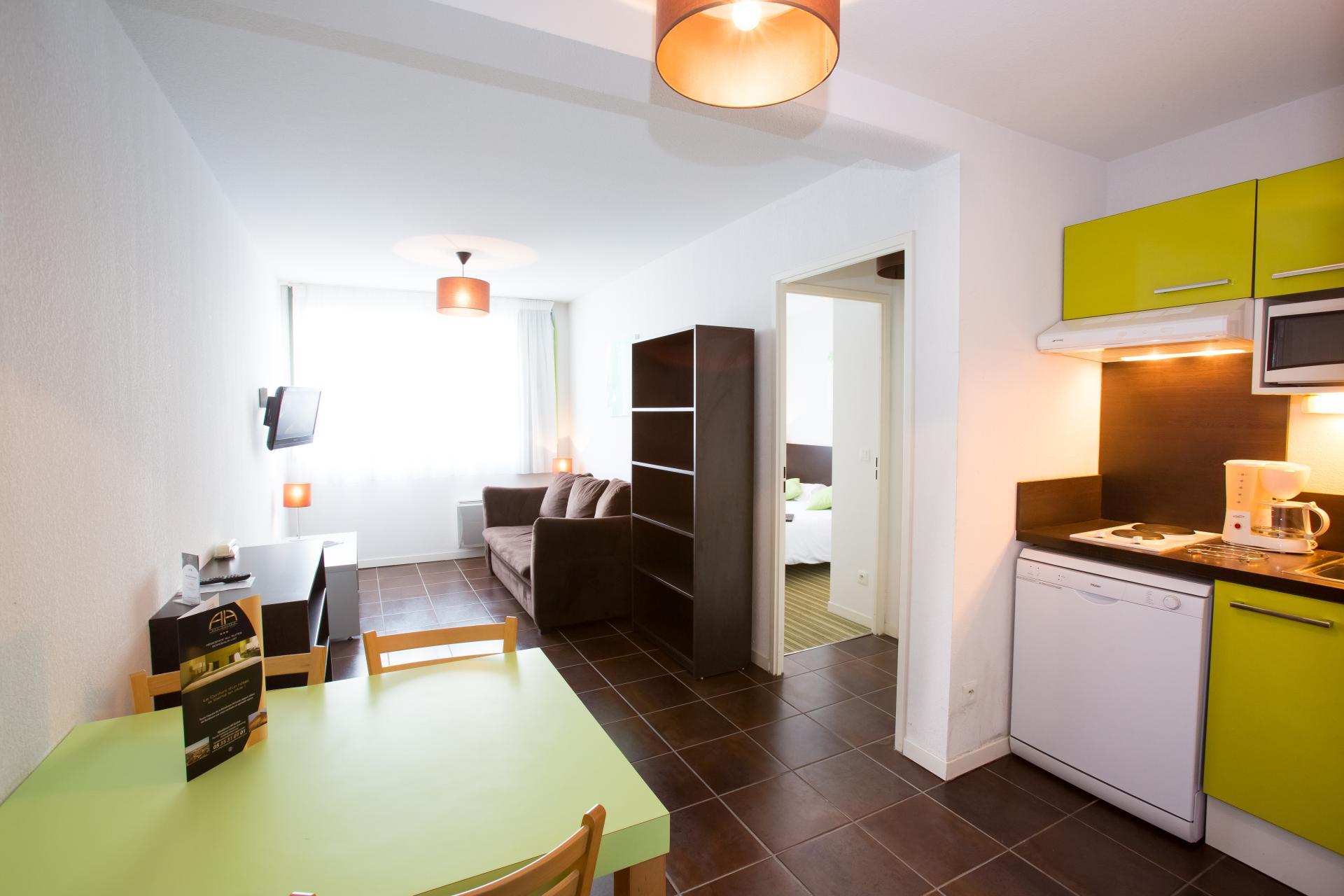 Résidence secondaire avec location appartement Rouen