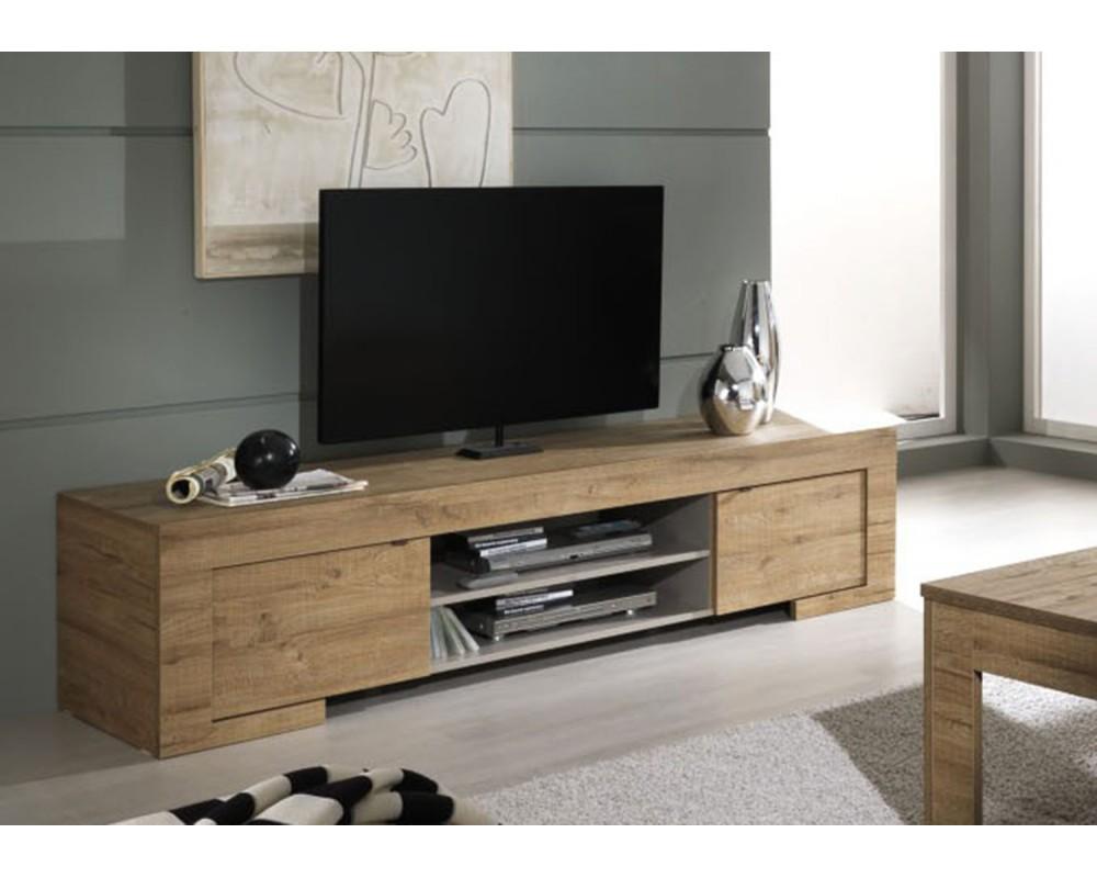 Meuble tv plusieurs fonctions pour ce meuble - Meuble tv bois design ...